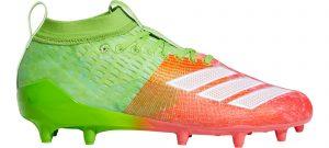 Adidas adiZero 8.0 football cleats.
