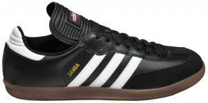 Adidas Samba Classic indoor soccer shoe.