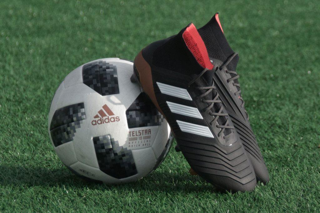 Adidas Predator soccer cleats.