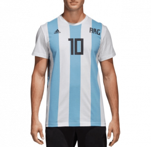 Argentina soccer jersey.
