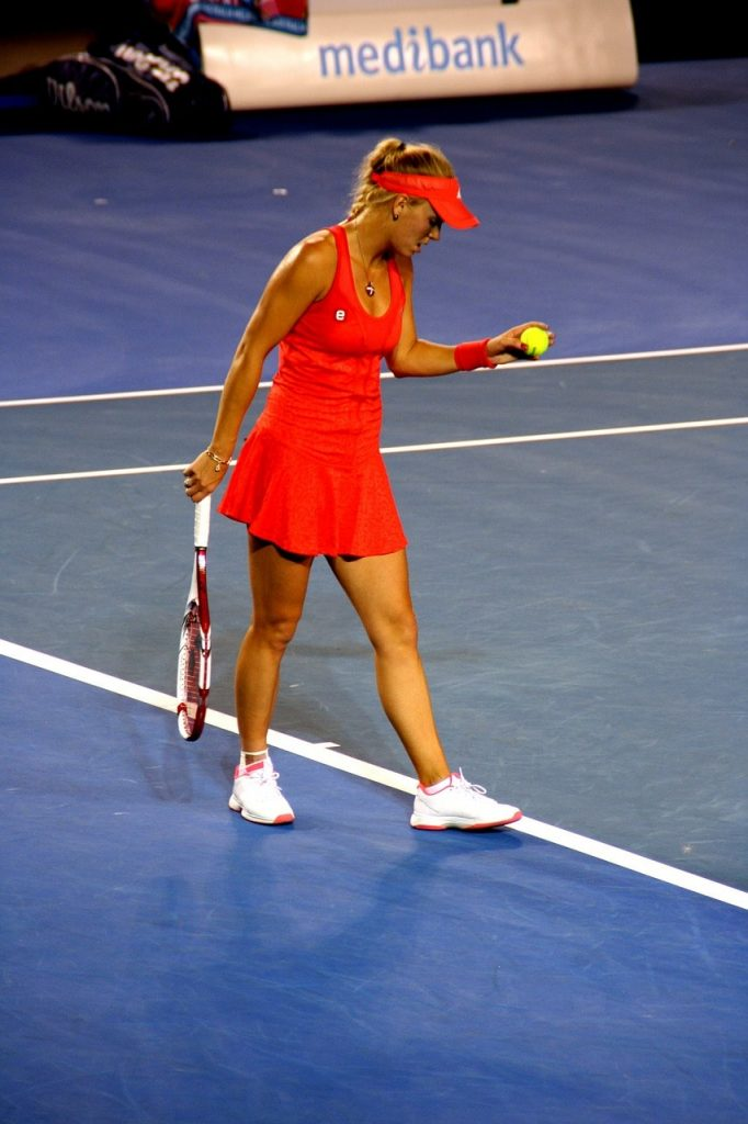 A tennis player.