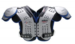 Schutt XV Flex football shoulder pads.