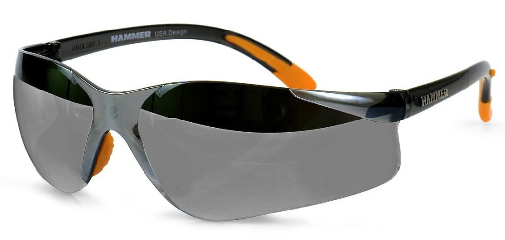 Under Armour hammer sports sunglasses.