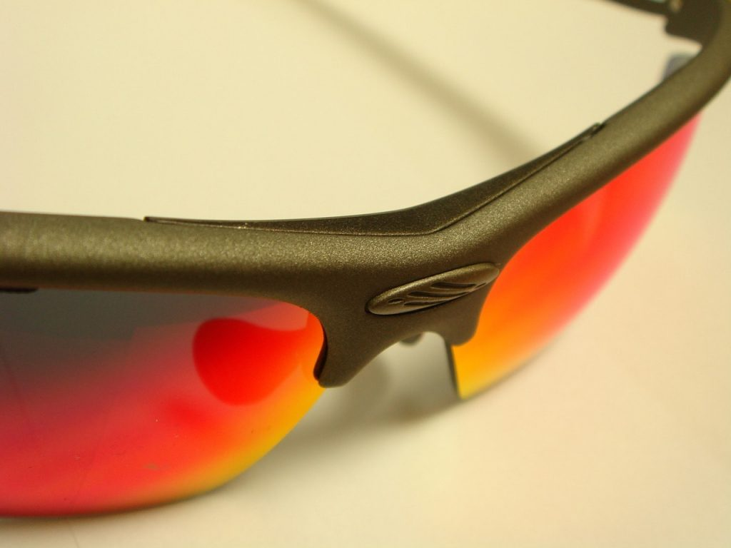 Sports sunglasses.