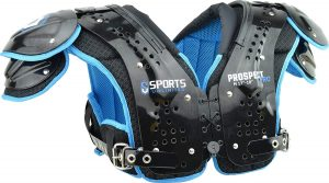 Sports Unlimited prospect pro shoulder pads.