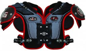 Tag 950 football shoulder pads.